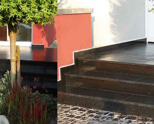 Bauen mit Naturstein Treppen für innen und außen von Steinmetz Wegener Bruchköbel